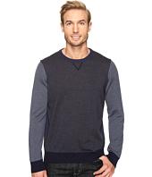 Thomas Dean & Co. - Color Block Merino Crew Sweater