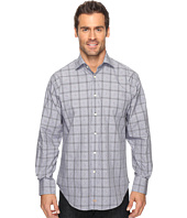 Thomas Dean & Co. - Long Sleeve Glen with Fil Coupe Sport Shirt