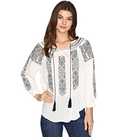 Rock and Roll Cowgirl - 3/4 Sleeve Top B4-8352