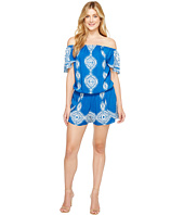 Hale Bob - Summer League Rayon Woven Off Shoulder Romper