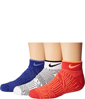 Nike Kids - 3-Pack Graphic Cotton Cush (Little Kid/Big Kid)