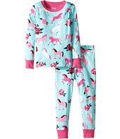 Hatley Kids - Ponies & Peonies Pajama Set (Toddler/Little Kids/Big Kids)