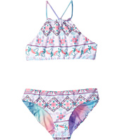 Seafolly Kids - Festival Surf Reversible Tankini Set (Little Kids/Big Kids)