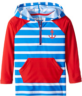 Hatley Kids - Vintage Nautical Hooded Rashguard (Toddler/Little Kids/Big Kids)
