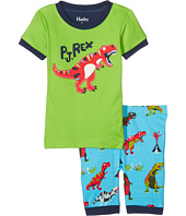 Hatley Kids - Roaring T-Rex Short Pajama Set (Toddler/Little Kids/Big Kids)