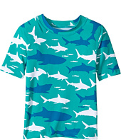 Hatley Kids - Toothy Shark Short Sleeve Rashguard (Toddler/Little Kids/Big Kids)