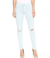 Hudson - Nico Mid-Rise Skinny w/ Distress in Leaflet Destruct