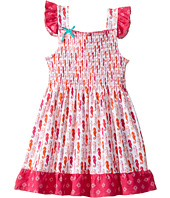 Hatley Kids - Sea Horse Smocked Flutter Sleeve Sun Dress (Toddler/Little Kids/Big Kids)