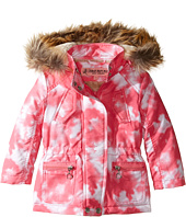 Urban Republic Kids - Peach-Finish Microfiber Jacket w/ Detachable Faux Fur Hood (Toddler)