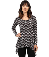 Karen Kane - Long Sleeve Handkerchief Top