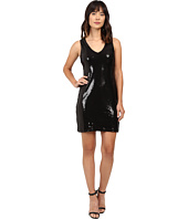 Karen Kane - V-Neck Sequin Sheath Dress