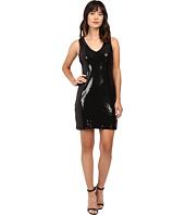 Karen Kane - V-Neck Sequin Sheath Dress