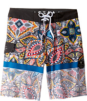 VISSLA Kids - Shark Alley Four-Way Stretch Boardshorts 17