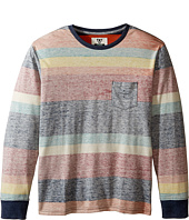 VISSLA Kids - Washed Out Long Sleeve Knit (Big Kids)