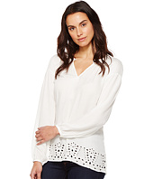 B Collection by Bobeau - Lucie Embroidered Blouse