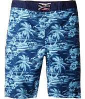 Appaman Kids - Hawaiian Plam Tree Swim Trunks (Toddler/Little Kids/Big Kids)