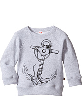 Appaman Kids - Super Soft Reversible Sweatshirt w/ Anchor (Toddler/Little Kids/Big Kids)