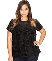Lucky Brand - Plus Size Burnt Out Top