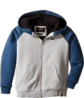 Quiksilver Kids - Block Outback Sherpa Fleece Top (Big Kids)