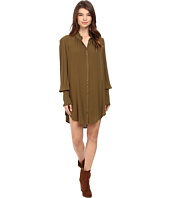 Free People - Lieutenant Shirtdress Mini