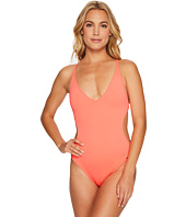 Vince Camuto - Pacific Coast Studded Plunge Double Cross-Back One-Piece