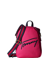 Tommy Hilfiger - Tommy Script Mini Crossbody Backpack Canvas