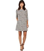 Taylor - Knit Jacquard A-Line Dress
