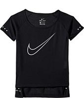 Nike Kids - Breathe Short Sleeve Running Top (Little Kids/Big Kids)