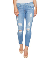 7 For All Mankind - Ankle Skinny w/ Destroy & Step Hem in Melbourne Sky