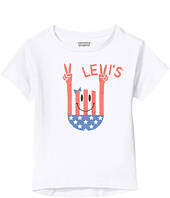 Levi's® Kids - Short Sleeve Hi-Low Tee (Big Kids)