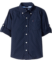 Tommy Hilfiger Kids - Mini Stars and Dots Printed Shirt (Toddler/Little Kids)
