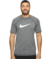 Nike - Solid Heather Short Sleeve Hydro Top