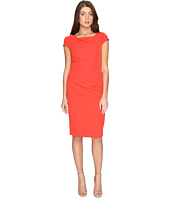 Adrianna Papell - Cowl Side Rusched Sheath Dress