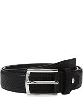 BUGATCHI - Nero Perforated Belt