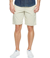 True Grit - Heritage Chino Shorts Hand Treated Washed w/ Stitch Details Zip