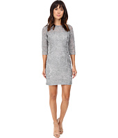 Aidan Mattox - Long Sleeve Soutache Cocktail Dress