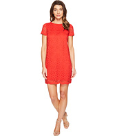 Maggy London - Geo Petal Lace Shift Dress