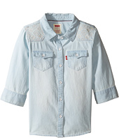 Levi's® Kids - 3/4 Sleeve Denim Top (Little Kids)