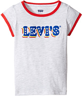 Levi's® Kids - Ringer Tee Short Sleeve Knit Top (Little Kids)