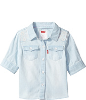 Levi's® Kids - The Western 3/4 Sleeve Denim Top (Infant)