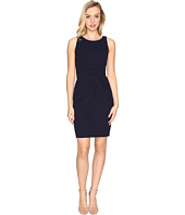 Tahari by ASL - Knot Detail Scuba Crepe Sheath Dress