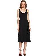 Prabal Gurung - Crepe V-Neck Sheath Flare Dress
