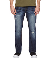 Buffalo David Bitton - King Slim Bootcut Jeans in Medium Repaired Wash