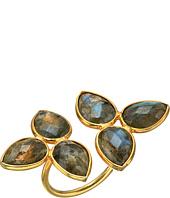 Dee Berkley - Gemstone Flower Ring Labradorite