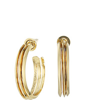 Eddie Borgo - Trace Hoops Earrings