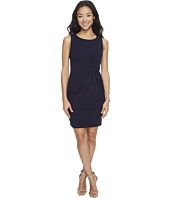 Tahari by ASL Petite - Petite Scuba Crepe Side Ruched Sheath Dress
