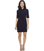Tahari by ASL Petite - Petite Jersey Shirtdress