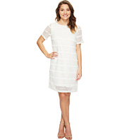 Tahari by ASL Petite - Petite Fringed Lace Shift Dress