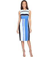 Donna Morgan - Sleeveless Pique Fitted Sheath