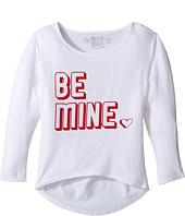 The Original Retro Brand Kids - Be Mine 3/4 Dolman Tee (Big Kids)